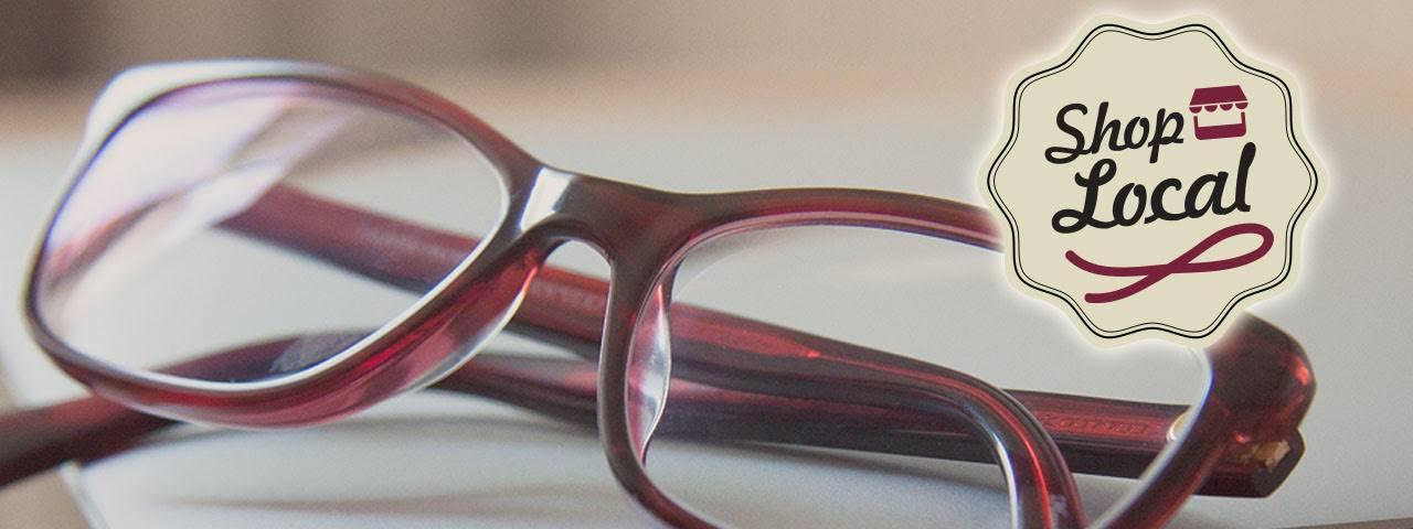 shoplocal purple glasses slide